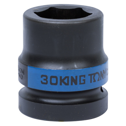 KING TONY (853530M) Головка торцевая ударная шестигранная 1
