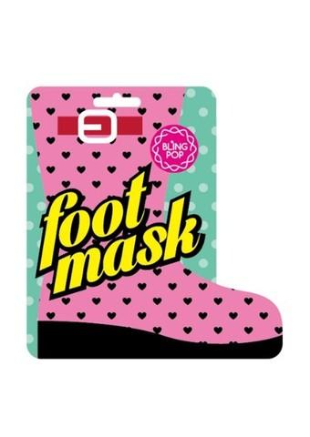 Bling Pop Shea Butter Healing Foot Mask маска для ног с маслом ши
