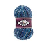 Alize Superwash 4446 сине-голубой