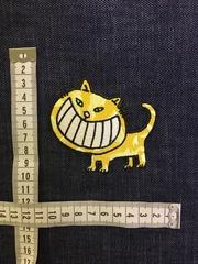 Нашивка Чеширский кот