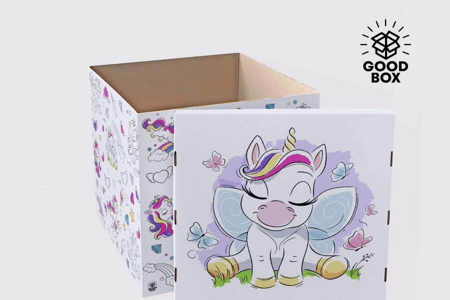 Большая коробка - раскраска купить в Алматы