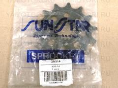 Звезда передняя (ведущая) Sunstar 3A314 JTF1441 для мотоцикла Suzuki  14 зубьев