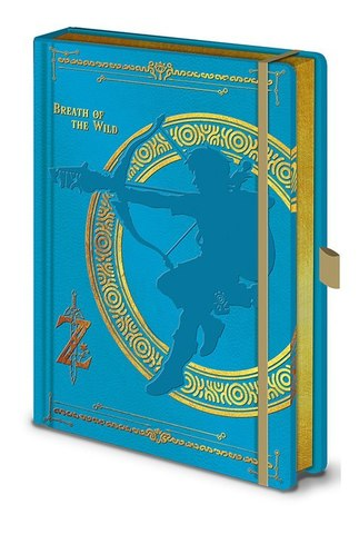 Записная книжка The Legend Of Zelda (Breath Of The Wild)