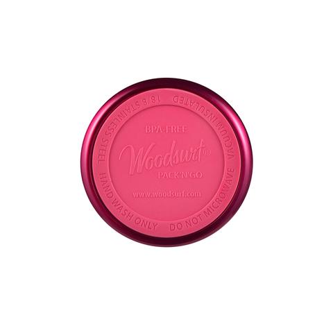 Термокружка Woodsurf Quick Open (0,35 литра), темно-розовая