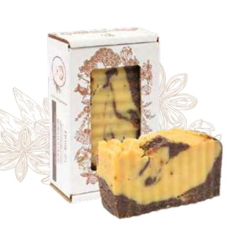 Мягкое мыло «Шамбала и бадьян» омолаживающее аюрведа для лица и тела. Сварено из растительных масел горячим способом, 110 ± 10 г