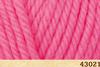 Пряжа Fibranatura INCA 43021 (розовый фламинго)