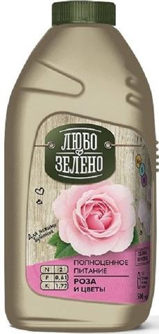 ЖКУ ЛЗ удобрение Роза и цветы 500 мл.