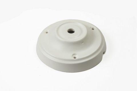 Чашка потолочная керамическая 1 вывод (Белый матовый)
