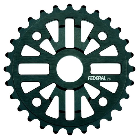 BMX Звезда Federal Command Sprocket 28T Black