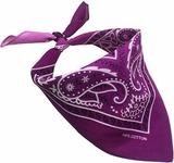 Фиолетовый градиент бандана фото