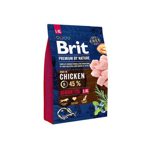 Купить Brit Premium by Nature Senior L+XL для пожилых собак
