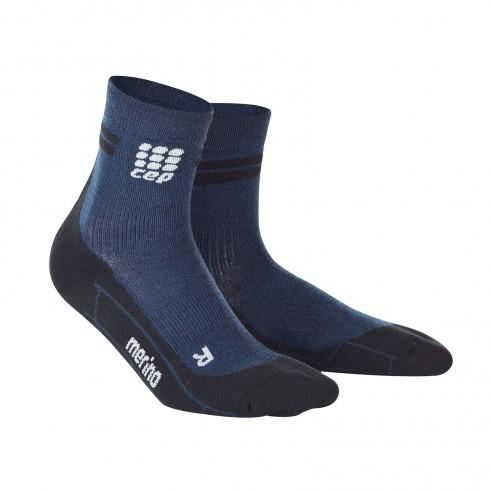 Для занятий спортом Функциональные укороченные гольфы CEP для бега, с шерстью мериноса 24_cep_run_merino_short_socks_navy_black.jpg