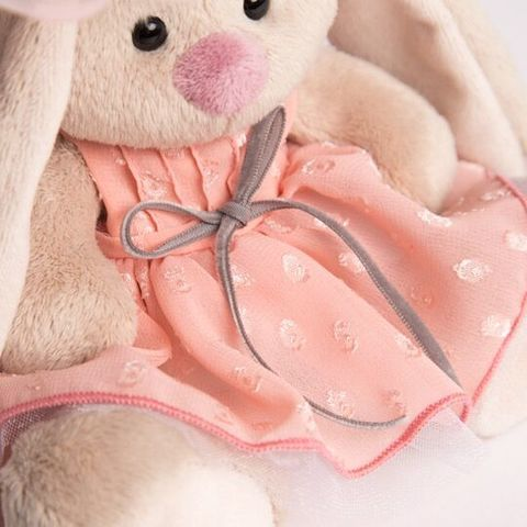 Зайка Ми в персиковом платье