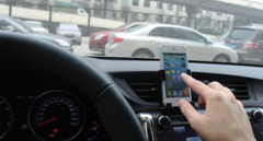 Держатель для смартфона в авто для Iphone 4,5 и Android