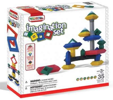 Конструктор WEDGITS Imagination Set 35 деталей