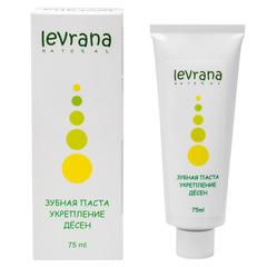 Levrana, Зубная паста укрепление десен, 75мл