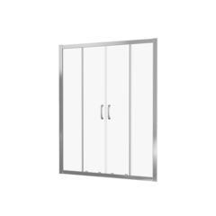 Душевое ограждение Good Door LATTE WTW-TD-150-C-WE 150 см