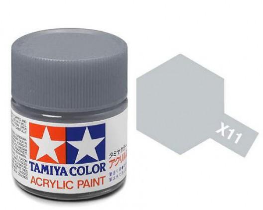 Tamiya Акрил X-11 Краска Tamiya, Хромир. Серебро Глянцевый (Chrome Silver), акрил 10мл import_files_b9_b9307ede5a8411e4bc9550465d8a474f_e3fbec155b5511e4b26b002643f9dbb0.jpg