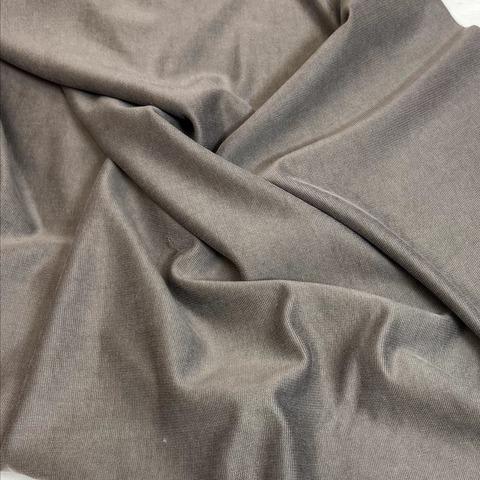 Ткань трикотаж  джерси  серый 3197