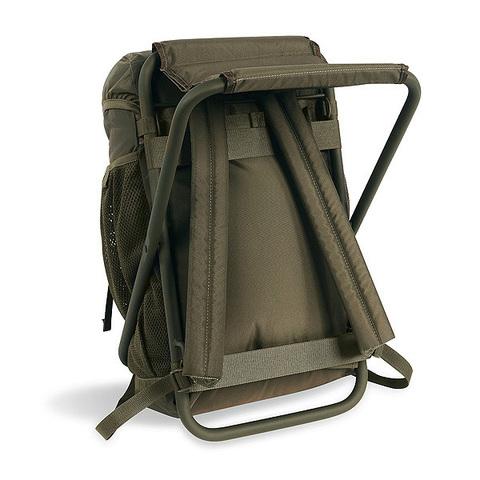 Картинка рюкзак-стул Tatonka Fischerstuhl Olive - 2