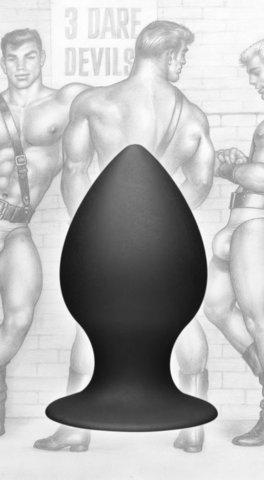 Анальная пробка M, 10 см - Tom of Finland