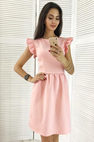 Паула. Красива молодіжна сукня. Рожева