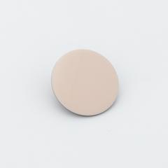 Розовая глянцевая пуговица