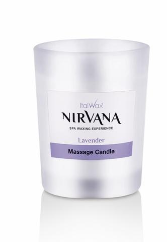 Свеча ароматическая, массажная ITALWAX Nirvana Лаванда 50 мл