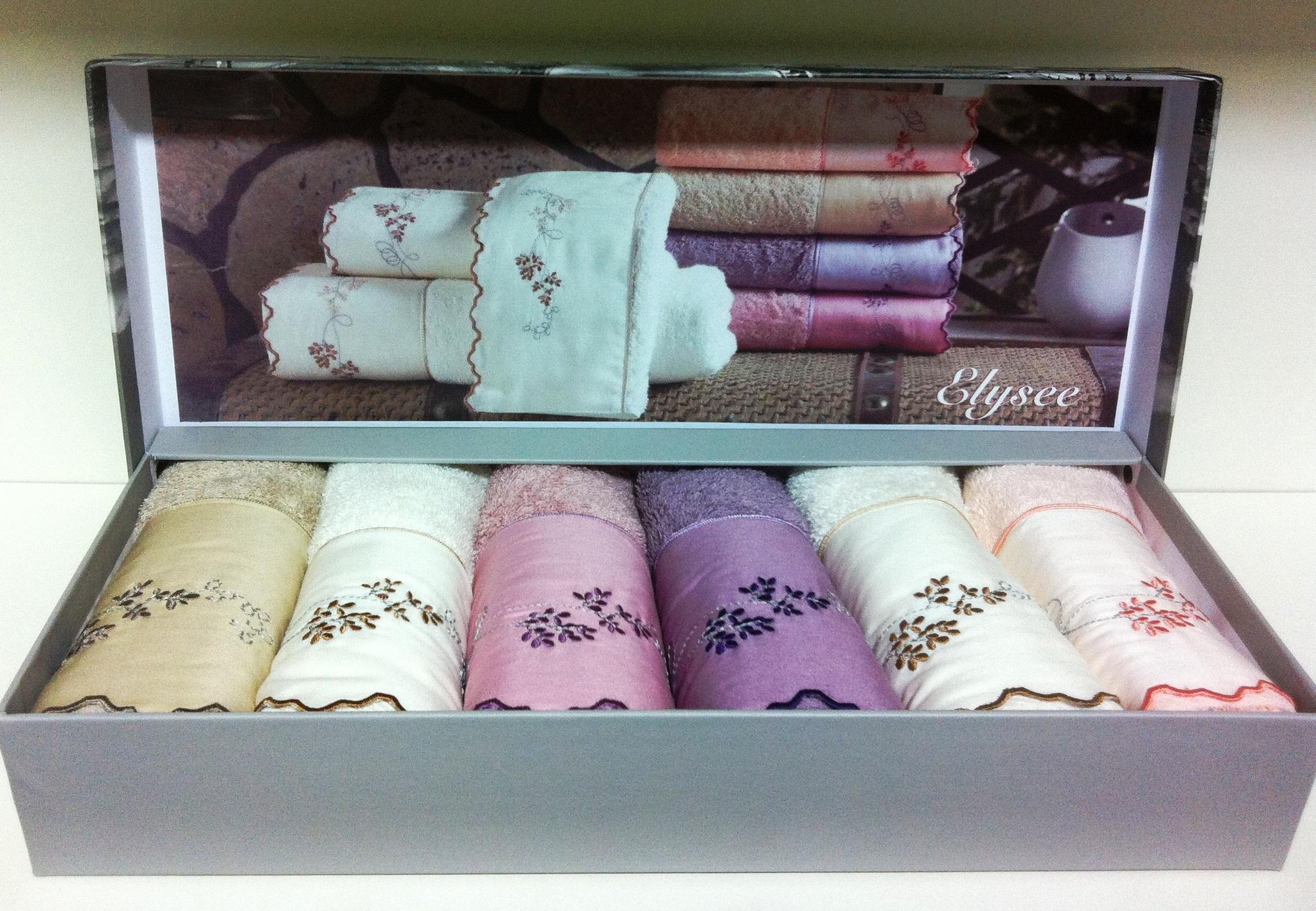 Наборы салфеток Набор полотенец  ELISSY  ЭЛИСИ в размере 30Х50  Maison Dor Турция ELYSEE__2_.JPG