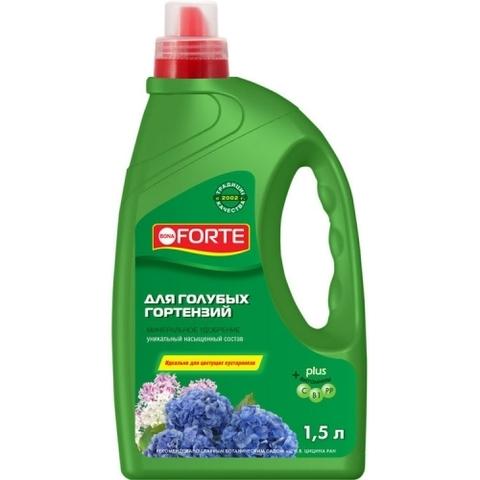 Bona Forte ЖКУ для открытого грунта для голубых гортензий 1,5л