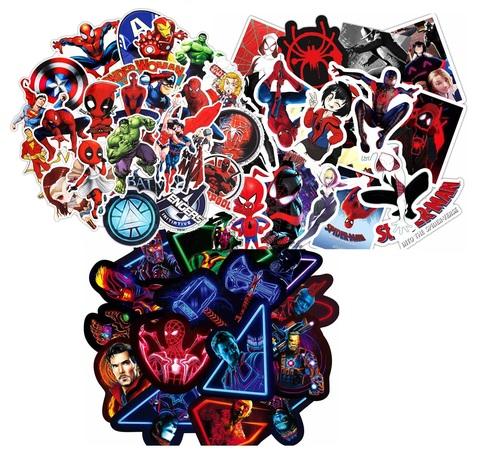 Супергерои набор наклеек в ассортименте