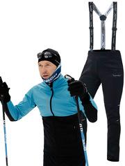 Утеплённый лыжный костюм Nordski Premium Breeze-Black 2020 мужской