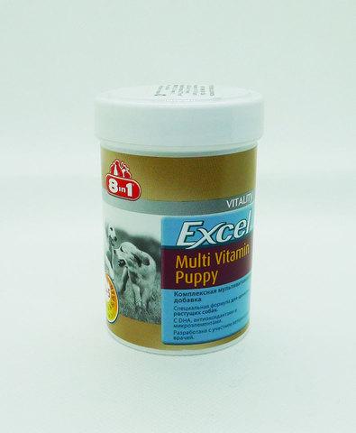 Excel Multi Vitamin Puppy 8in1 мультивитамины для щенков 100таб