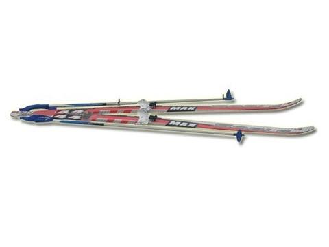 Лыжный комплект STС (лыжи, палки, крепление 75 мм): 150