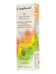 Compliment Sparkling Pleasure пилинг-скатка для лица увлажняющая «Персиковый сорбет»