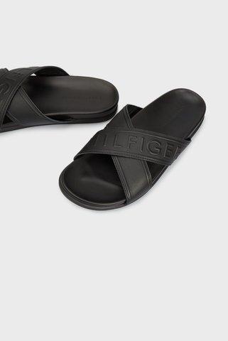 Мужские черные сандалии Tommy Hilfiger
