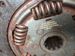 Диск и корзина сцепления МАН ТГЛ Комплект сцепления на МНА ТГЛ 81303050198 81303006003 81303050232 81303010529