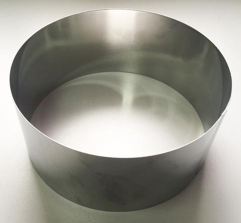 Кольцо-резак для торта H10 D26, нерж. сталь 1 мм.