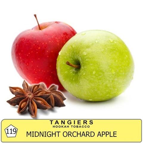 Табак Tangiers Kosmik - Midnight Orchard Apple T119 (Танжирс Пряное Яблоко)  Noir 20г