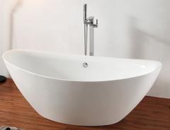Акриловая ванна ABBER AB9248 180х87 см отдельностоящая
