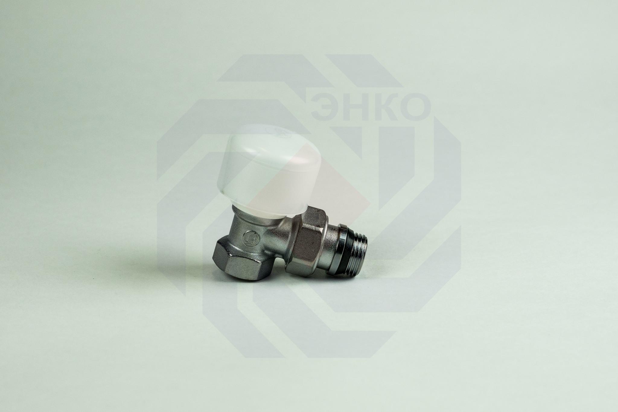 Клапан радиаторный ручной GIACOMINI R5TG угловой ½