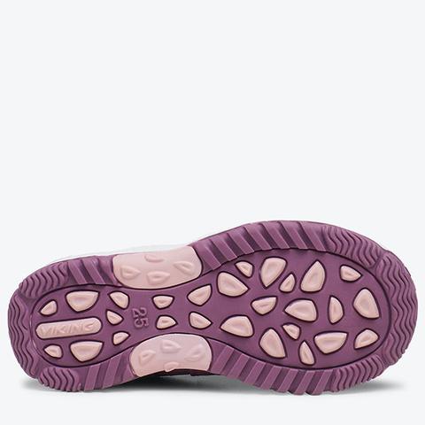 Детские кроссовки Viking Cascade 2.0 Bordeaux/Violet