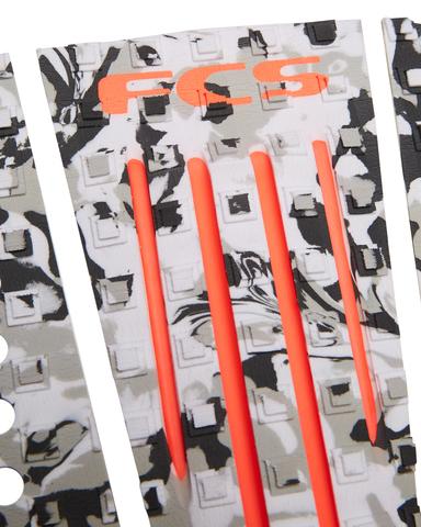 Коврик для серфборда FCS Julian Grey Camo/Blood Orange