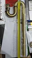 Сифон KAISER 975-1 An для раковины с S-образной трубкой в цвете