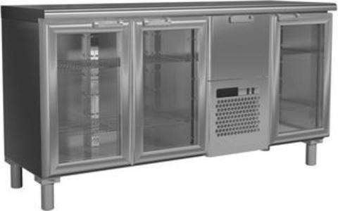 фото 1 Холодильный стол Rosso T57 M3-1-G 9006-1 корпус серый, без борта (BAR-360C) на profcook.ru
