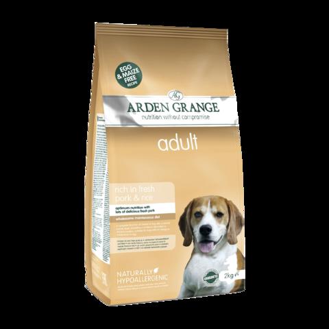 Arden Grange Adult Сухой корм для взрослых собак Свинина и Рис