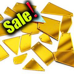 Пришивные зеркала купить в интернет-магазине в наборе Gold