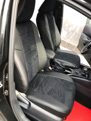 Чехлы на Toyota Corolla 2018–2021 г.в.