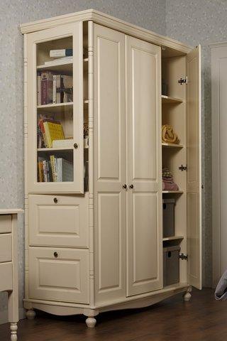 Шкаф 3-створчатый Айно 5 (эмаль крем)