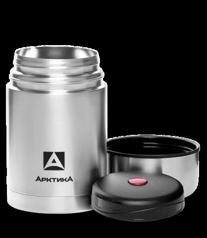 Термос для еды Арктика (0,5 литра) с супер-широким горлом, стальной